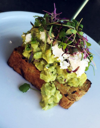 Avo Smash - on protein bread