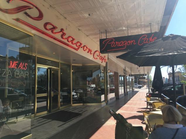 The Paragon Cafe