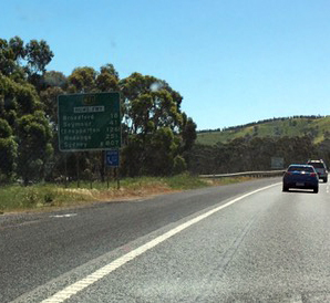 On the road to Shepparton (pic by 'Nan')