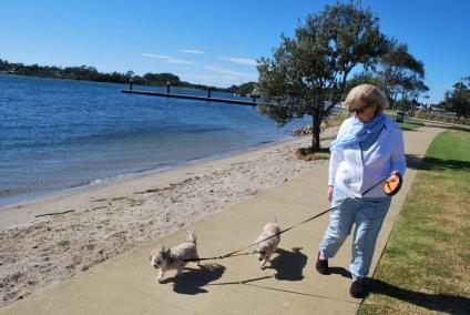 Walking with Nan